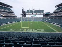 Philadelphia Eagles Seating Chart Lincoln Financial Field Section 110 Seat Views Seatgeek