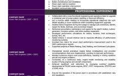 Power Plant Mechanical Engineer Resumes Mechanical Engineer Resume Samples And Writing Guide 10