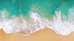 Wallpaper iOS 11, 4k, 5k, beach, ocean ...