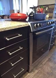 gap between stove and counter how to fill fix countertop betwee gap