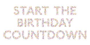 Start The Birthday Countdown Birthday Countdown Birthday
