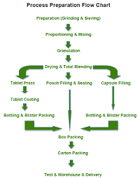 Solid Preparation Process Flow Chart 30 Years Fill Machine