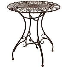 oriental outdoor furniture. Oriental Furniture Rustic Garden Table - Rust Patina Oriental Outdoor Furniture