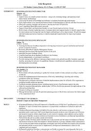 Professional Business Resume Examples Business Excellence Resume Samples Velvet Jobs
