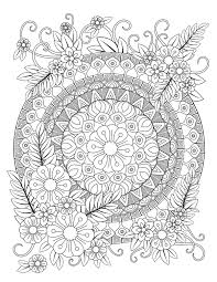 But often the most interesting part is the coloring of these beautiful creations … that is why we offer mandalas ready to color ! Mandala Coloring Pages Printable Coloring Pages Of Mandalas For Adults Kids Printables 30seconds Mom