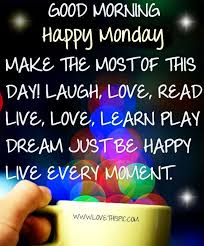 Good Morning Monday Quotes Magnificent Good Morning Happy Monday Positive Quote Pictures Photos And