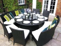8 person outdoor dining table interesting large round patio dining sets round dining table sets white two tone round extending