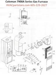 7956a856 coleman gas furnace parts tagged manual hvacpartstore click here to view a manual for the coleman 7956a856 which includes wiring diagrams