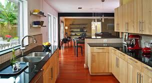 light wood kitchen cabinets contemporary with black chair countertop in cabinet design 18