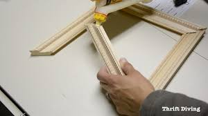 frame anything how to make diy picture frames first glue the picture frame together