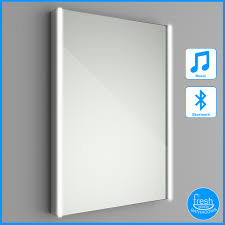 500x700 Illuminated LED Bathroom Mirror Bluetooth Speaker