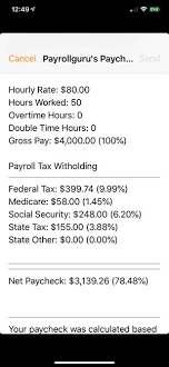 salary paycheck calculator mn paycheck lite mobile payroll on the app store
