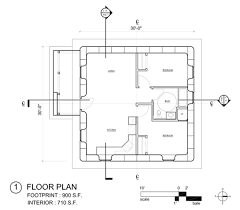 free open source strawbale floorplan
