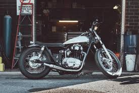 the yamaha xs650 that s been dubbed the devil bike ridejournal