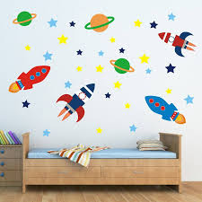outer space wall sticker set wall stickers