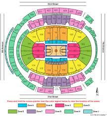 Msg Seating Chart Big East Tournament Madison Square Garden Tickets And Madison Square Garden