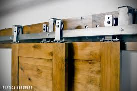 by p barn door hardware allows up to 3 doors to slide in front or in back of each other