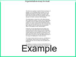 sample types of essay journalistic