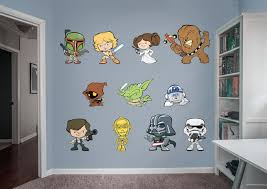 star wars pop collection large officially licensed removable wall decals fathead wall decal  on star wars baby wall art with star wars pop collection large officially licensed removable wall