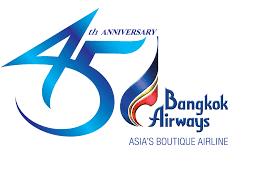 logo 45years bangkok airways