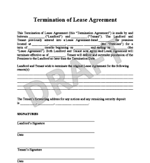 lease agreement letters terminating a lease agreement letter gallery agreement letter format