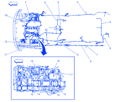 hummer h3 2005 main electrical circuit wiring diagram  carfusebox hummer h3 2005 main electrical circuit wiring diagram