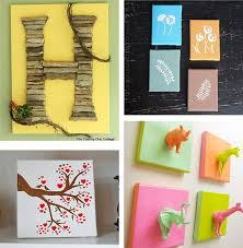 Diy Canvas Wall Art Ideas: 30+ Canvas Tutorials in Diy Wall Art