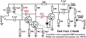 fuzz central colorsound tonebender knob park fuzz sound 2 knob schematic