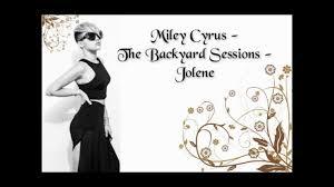 Jolene Song  WikipediaBackyard Sessions Jolene