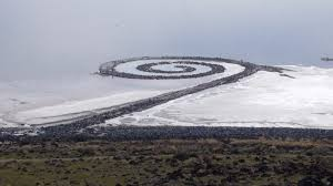 Image result for Spiral Jetty en 1970
