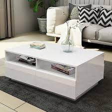 new modernoffee table drawer storage