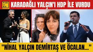 Tamer Karadağlı'dan Altın Portakal'da ödül verdiği Nihal Yalçın'a Demirtaş  ve Öcalan suçlaması - YouTube