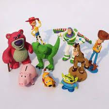 Online Shop 9Pcs/<b>set Toy Story</b> Buzz lightyear Woody Jessie Rex ...