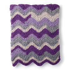 Yarnspirations Patterns New Bernat Chevron Crochet Blanket Yarnspirations Yarnspirations
