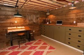basement renovation industrial home office basement home office