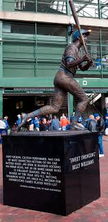 billy williams statue ax billy sports bar