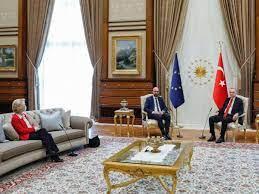 Empörung bei EU-Kommission: Präsidentin auf dem Sofa - Erdogans Sitzplan  sorgt für Eklat - Politik - Schwarzwälder Bote