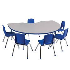 preschool table and chairs. Ecr4kids Preschool Kidney Activity Table Chair Packages And Chairs