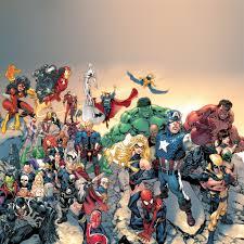 Super Avengers Marvel Comic Drawn Art ...