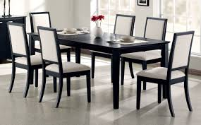 The Louise Transitional Black Rectangular Dining Table Available At