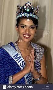 Winner Of Miss World Miss India Priyanka Chopra 18 Stockfotos und -bilder  Kaufen - Alamy