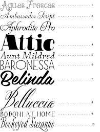 50 Best Fonts Snippet Ink Wedding Blog Fonts Pinterest