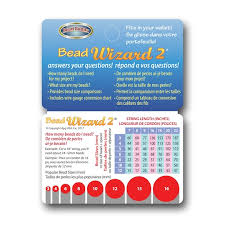 Bead Buddy Bead Wizard 2 Plastic Card