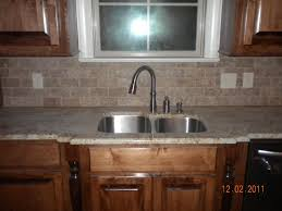 Rock Backsplash Kitchen Natural Stone Kitchen Backsplash Tile Cliff Kitchen