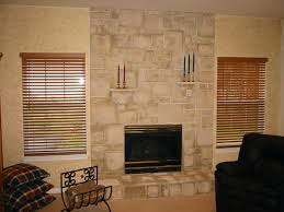 refacing fireplace with stacked stone slate tile reface white close resurface hearth