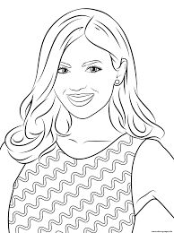 Famous People Coloring Pages Valid Celebrity Book In Bitsliceme