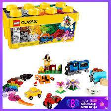 Báo giá Đồ chơi xếp hình Lego Classic 10696 Thùng gạch trung sáng tạo 484  mảnh ghép chỉ 749.000₫