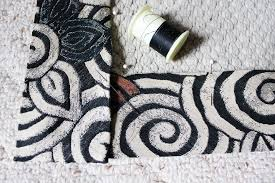the final result is a pretty rug that matches your decor use it to spruce up a sitting area or try layering it over your new rug for a bohemian look