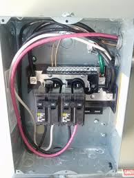 square d qo load center  home and furnitures reference square d qo load center square d 100 sub panel wiring diagram get image