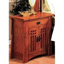 Quarter Sawn Oak Mission Craftsman Nightstand $599.00